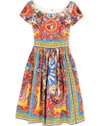 Dolce & Gabbana | 3/4 Length Dress | Lyst