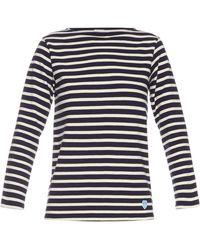 Orcival - Breton-stripe Cotton Top - Lyst