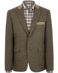Gibson - Moorgate Jacket With Contrast Cloth - Lyst
