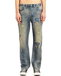 Levi's Levi'S Vintage Mens Classic Fit 1933 501 Construction Selvedge Denim Jeans - Lyst