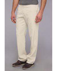 Tommy Bahama Coastal Twill Flat Front Pant - Lyst