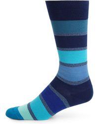 Paul Smith | Blocked Stripe Dress Socks | Lyst