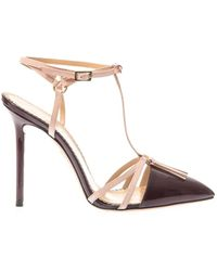 Charlotte Olympia Trixy Patent-Leather Pumps - Lyst