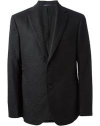 Christopher Kane Crocodile Embossed Blazer - Lyst