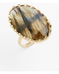 Lana Jewelry 'Ultra' Small Labradorite Ring - Lyst