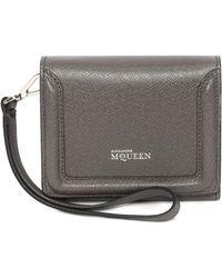 Alexander McQueen Heroine Short Wallet - Lyst