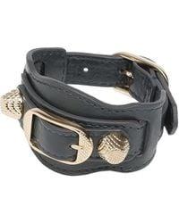 Balenciaga Giant Gold Bracelet - Lyst