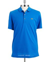 Lacoste Solid Polo Shirt - Lyst