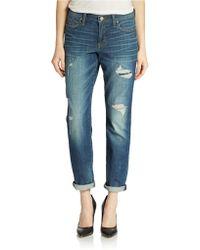 DKNY Boyfriend Jeans - Lyst