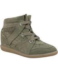 Isabel Marant Bobby Suede Ankle Boots - Lyst