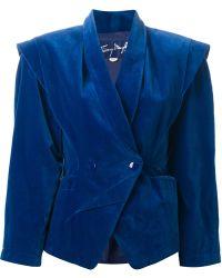 Thierry Mugler - Velvet Jacket - Lyst