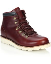 Ugg | Boysen Tl Lace-up Leather Boots | Lyst