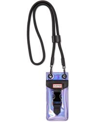 HUNTER - Original Holographic Phone Pouch - Lavender - Lyst