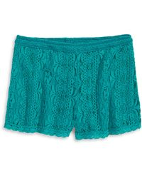 Material Girl - Lace Shorts - Lyst