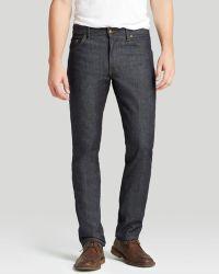 Raleigh Denim Jeans - Jones New Tapered In Raw Indigo - Lyst