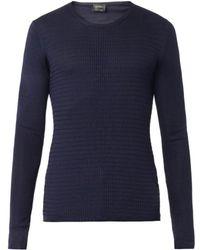 Jil Sander Fineknit Silk Sweater - Lyst
