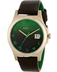 Marc By Marc Jacobs Green Slim Strap - Lyst