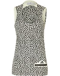 Adidas By Stella Mccartney Cotton Graphic Print Running Tank - Lyst