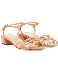 Sergio Rossi Leather Sandals - Lyst