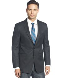 Calvin Klein | Big And Tall Neat Classic-fit Sport Coat | Lyst