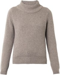 Esk - Violet Cashmere Knit Sweater - Lyst