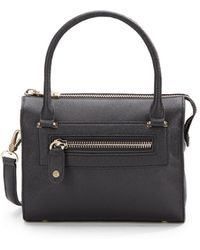 Eric Javits Leather Lil Zip Loaf Bag - Lyst