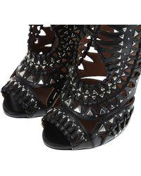 Alaïa Black Boots - Lyst