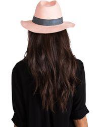 30c5108de79 Tigerlily - Sushanti Hat in Peach - Lyst