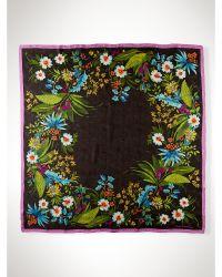 Ralph Lauren Silk Spring Floral Scarf - Lyst