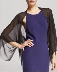 Halston - Shrug - Silk Cover Up - Lyst