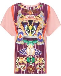 Mary Katrantzou Obelisk Top Totem Dusty Pink - Lyst