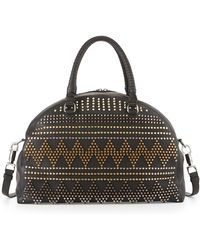 Christian Louboutin Panettone Large Spike Stud Satchel Bag - Lyst