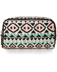Forever 21 - Globetrotter Small Cosmetic Bag - Lyst