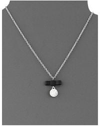 Marc By Marc Jacobs All Tied Up Charmed Bow Tie Pendant - Lyst