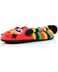 River Island Multicoloured Stripe Tiger Slipper Socks - Lyst