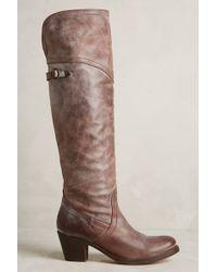 Frye Jane Tall Cuff Boots - Lyst