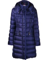 Moncler Hermine Padded Coat - Lyst