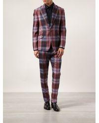 Vivienne Westwood Pink Tartan Suit - Lyst