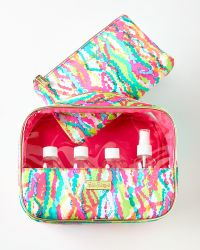 Lilly Pulitzer - On-board Travel Kit - Lyst