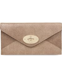 Mulberry Envelope Wallet - Lyst