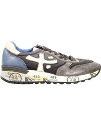 Premiata Mick Sneakers Suede and Nylon - Lyst