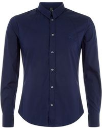 McQ by Alexander McQueen Stretch-Cotton Harness Shirt - Lyst
