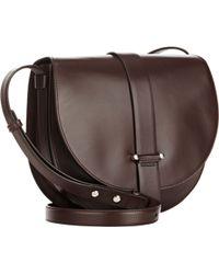 Jil Sander Robin Saddle Bag - Lyst