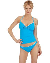Ralph Lauren Blue Label Summer Classics Halterkini Swim Top - Lyst