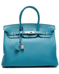 Heritage Auctions Special Collection Hermes 35Cm Turquoise Togo Birkin - Lyst
