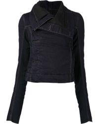 DRKSHDW by Rick Owens Fitted Jacket - Lyst
