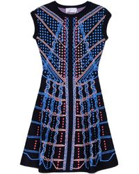 Peter Pilotto Circuit Knit Dress - Lyst
