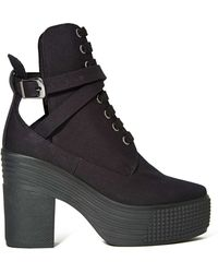 4f74f8ebde93fb Nasty Gal - Jc Play By Jeffrey Campbell As If Platform Boot - Black - Lyst