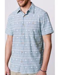 Faherty Brand Ss Pura Vida Heritage Shirt - Lyst