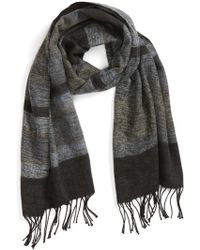 Echo - 'meadow Stripe' Wrap Scarf - Lyst